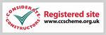 Registered Site of Considerate Constructors Scheme – home of the considerate builder